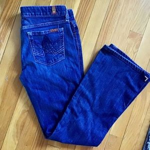 7 for All Mankind A pocket womens boot cut  sz 30
